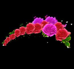 tiara crown princess qween floral freetoedit