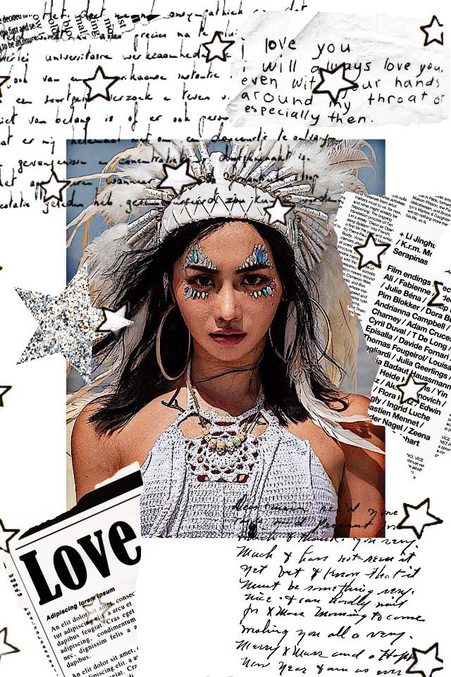 #freetoedit #indiangirl #native #indian #hipster #newspaper #glitter #glitterstar #notes