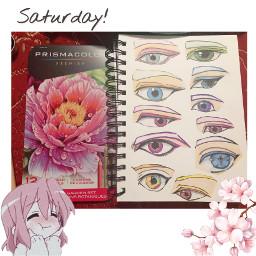 freetoedit anime animeeyes prismacolors prismacolorpencils
