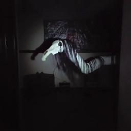 longhorse unnervingimages horror cryptid sighting