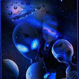 freetoedit aliens surreal ufo space srcalienroyalty