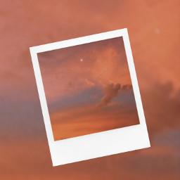 sunset backgroundblur aesthetic polaroid polaroidframes freetoedit