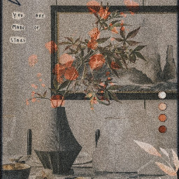 freetoedit remix replay vintage picsart flowers