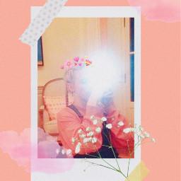 freetoedit billieeilish billieeilishedit pink poloroidedit