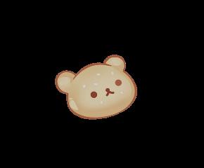 bear kawaii cute soft edit freetoedit