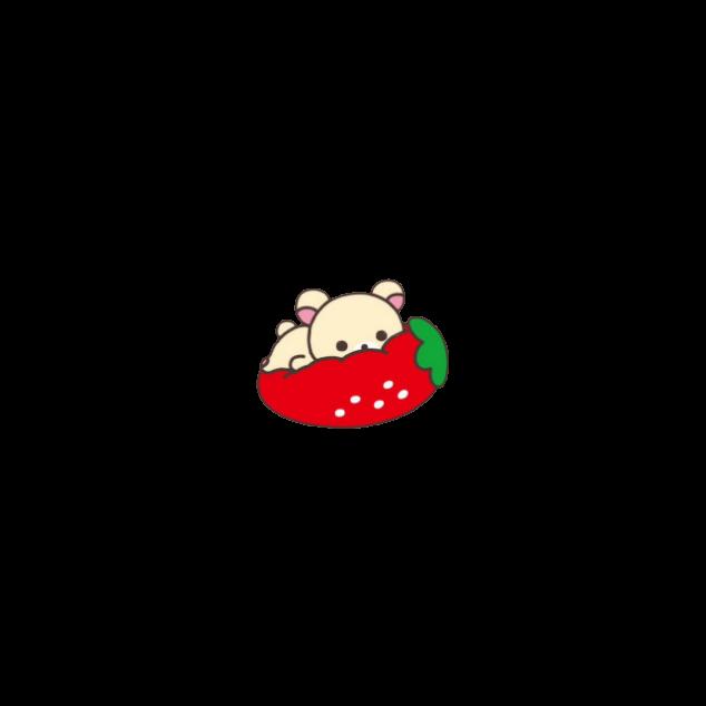 #rilakkuma #bear #stawberry #kawaii #cute #soft #edit #edited #editing #freetoedit #freedom