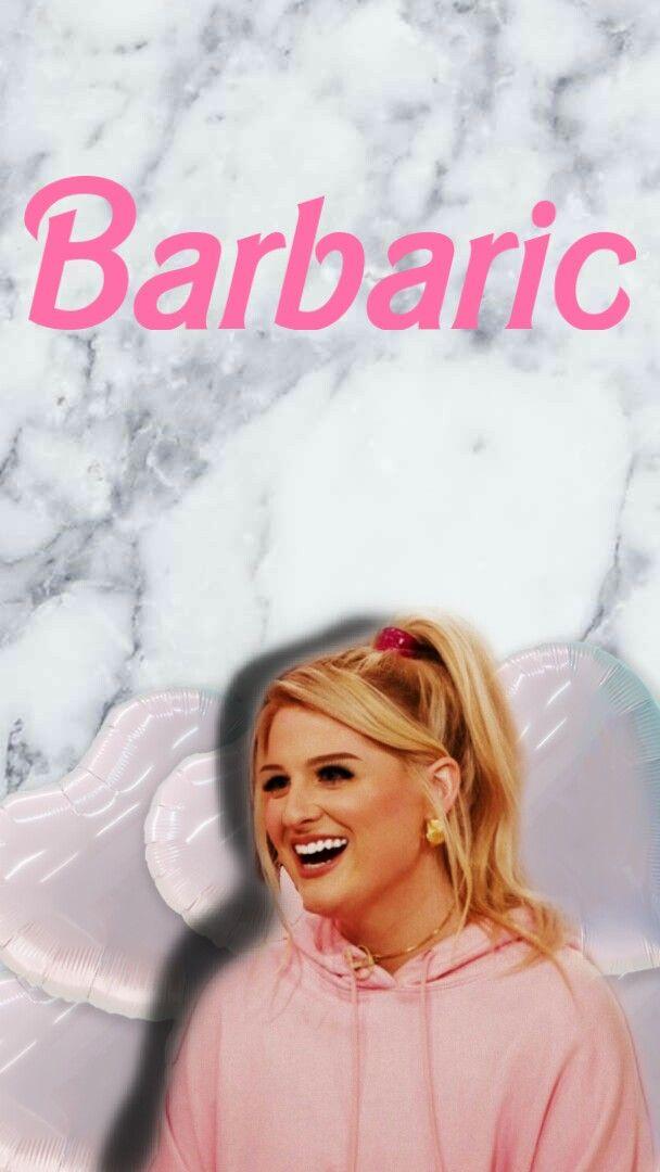 #freetoedit #meghantrainor #lockscreen #Barbie #balloon #pink