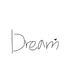 dream type text cursive handwriting freetoedit