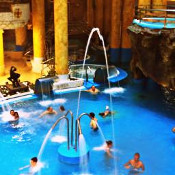 freetoedit spa waterfall