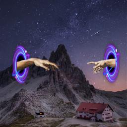 srcgalaxyaway galaxyaway freetoedit portals anotherdimension