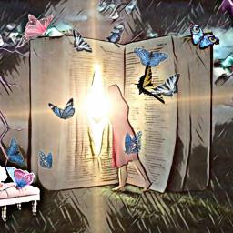 freetoedit magical book mystical ircpinkremix