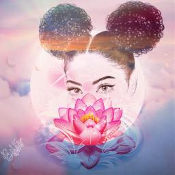 freetoedit astudyinpink pink petals lotus ircpinkremix
