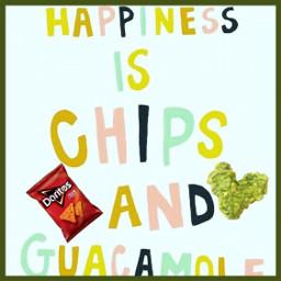 freetoedit chips guacamole doritos happiness