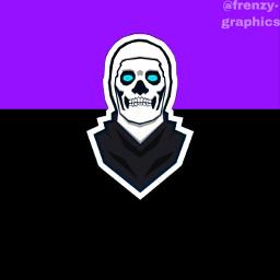 logo skulltrooper fortnite fuzionrc freetoedit