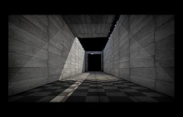 architecture 3d corridor stone background freetoedit