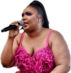 lizzo freetoedit sccolorpink colorpink