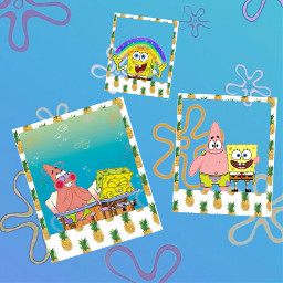 freetoedit selfmade spongebob spongebobandpatrick friends
