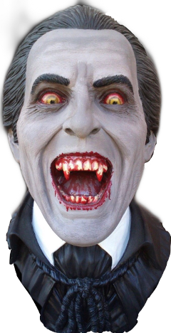 dracula monster profile face blood scary freetoedit