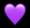 #freetoedit yeet sickness has me so tired #purple #heart #emoji #heartemoji
