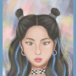 art fanart kpop kpopfanart itzy
