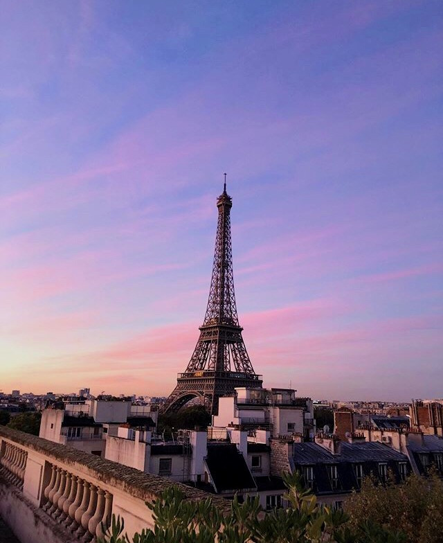 She's lovely.   #freetoedit #France #EiffelTower #bluehour #pctravel #travel #trip #vacation