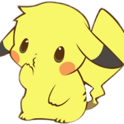 pikachu pokémon cute png tumblr freetoedit