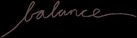 balance libra cursive textography freetoedit