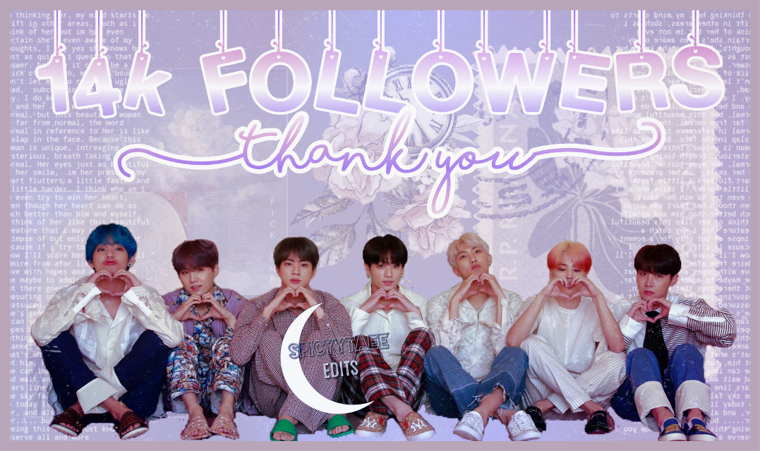 I kid you not i was NOT prepared for this😭 i havent been editing latley and BOOM i see 14k followers sksksk I WAS JUNGSHOOK🤧 i made this edit as fast as i could [7:42] and still tried to make it look good, its 12am over here hehe  But thanks to every fairy who follows me🥺 love you allllll🤧💜✨                                ~Deysi✨                #BTS #kpop #rm #jin #suga #jhope #jimin #v #jungkook