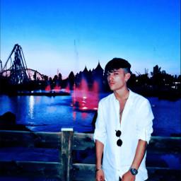 italy🇮🇹 rome raimbow magicland sunset