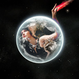 freetoedit outerspace asteroid planetearth mothernature
