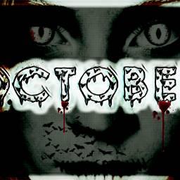 ircoctoberishere octoberishere freetoedit picsart dailysticker scary