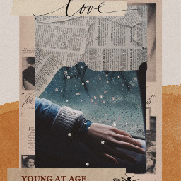 picsart collageart scrapbook scrapbooking quote vintage aesthetic hellooctober fall freetoedit