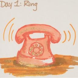 inktober inktober2019 telephone art myart