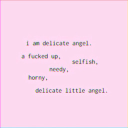 delicate pink cutequotes quotes glitch
