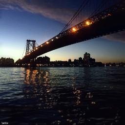 pcafterdark afterdark freetoedit williamsburgbridge newyorkcity