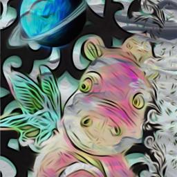freetoedit hippo lace planet canvastexture eccanvastexture