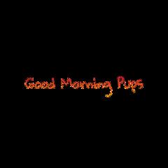 good morning pups wolfpack freetoedit