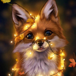 srcautumncolors autumncolors freetoedit fox cute