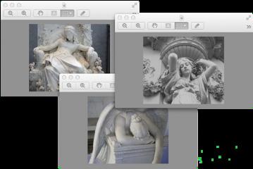 vaporwave gray statue windows freetoedit