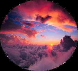 freetoedit sunset clouds pretty sun