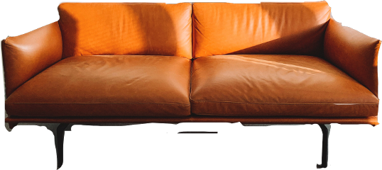 freetoedit orange sofa couch furniture