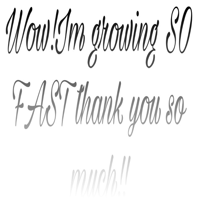 Thanks guys #thanks #thanksguys #Lysm #loveyallsomuch #sohappy #freetoedit #cantbelieveit #wow