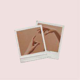 freetoedit polaroid hand brown aesthetic