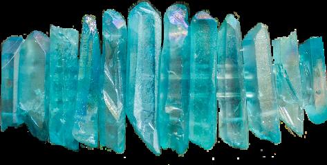 freetoedit crystals quartz turquoise barrette