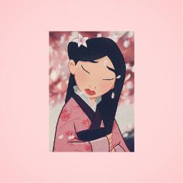 mulan pinkaesthetic