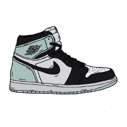 sneaker sneakers jordan jordans cartoon freetoedit