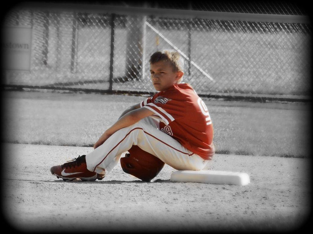 #baseball #sportsmom #blackandwhite