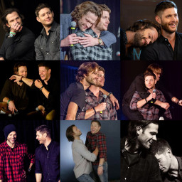 freetoedit jensenackles jaredpadalecki supernatural friendship