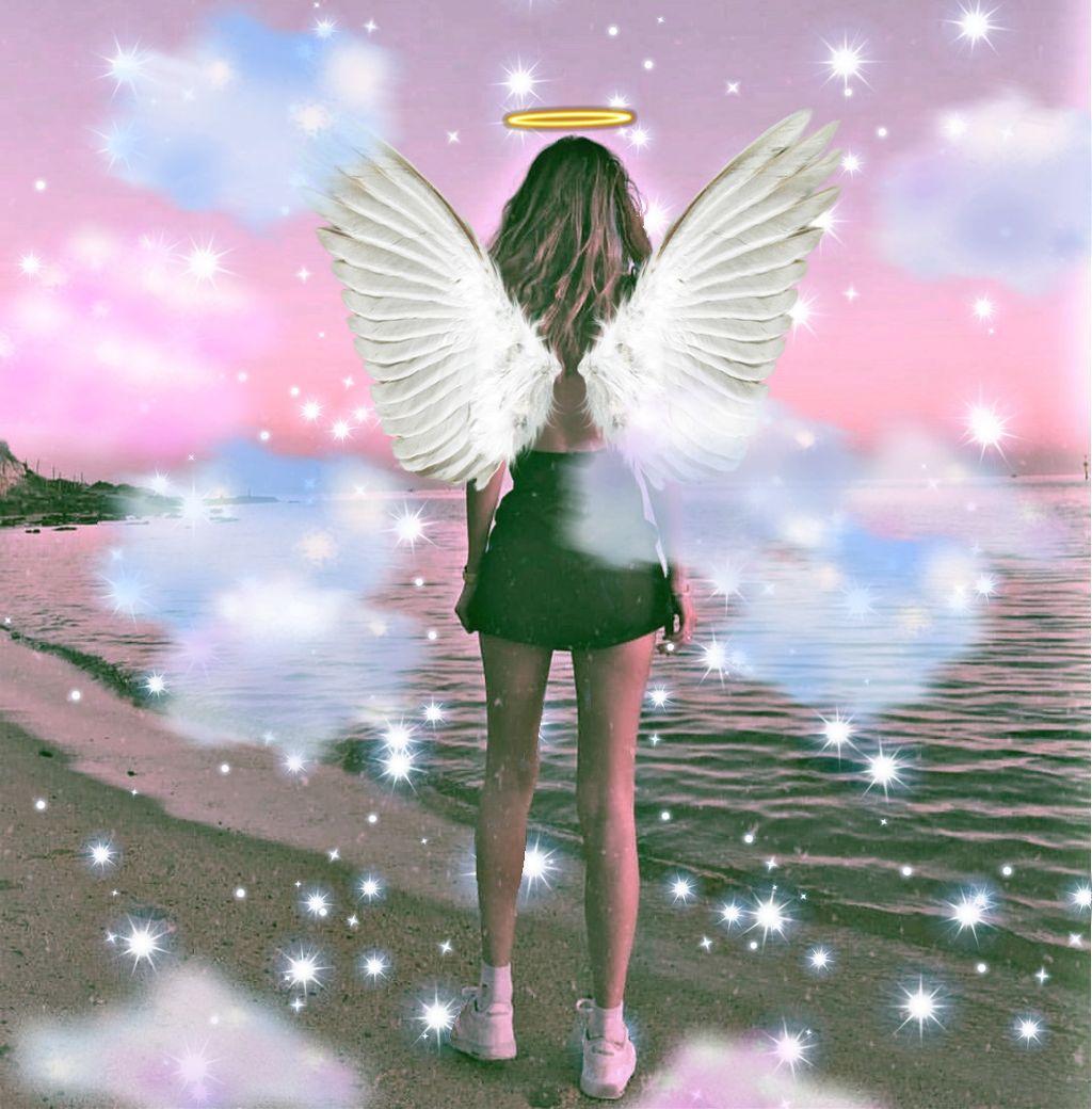 #freetoedit #angelgirl