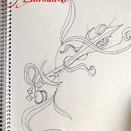 inktober inktober2019 sword enchanted enchantedsword